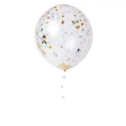 Iridescent Confetti Balloons :: Meri Meri