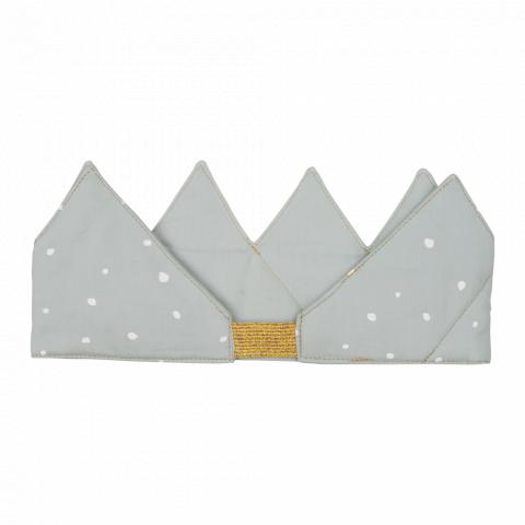 Crown, color Foggy Blue, dress-up toys from Fabelab  :: Desgin Bottega