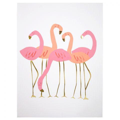 Flamingo Wall Art from Meri Meri