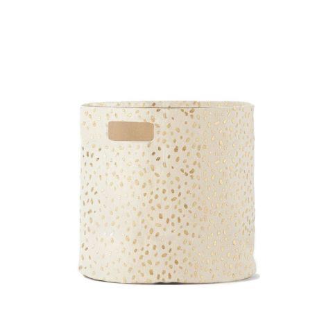 Gold Speck Bin di Pehr è un contenitore morbido :: Compra online presso Design Bottega