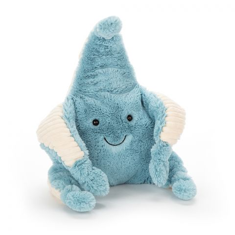 Skye, un peluche nella forma di una stella marina da Jellycat :: Baby Bottega