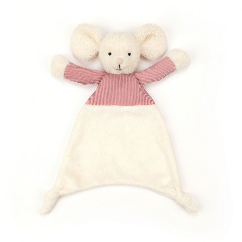 Jumble Mouse Soother from Jellycat :: Buy at Baby Bottega