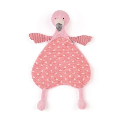 Lulu Flamingo Soother :: Baby Toys :: Jellycat available at Baby Bottega