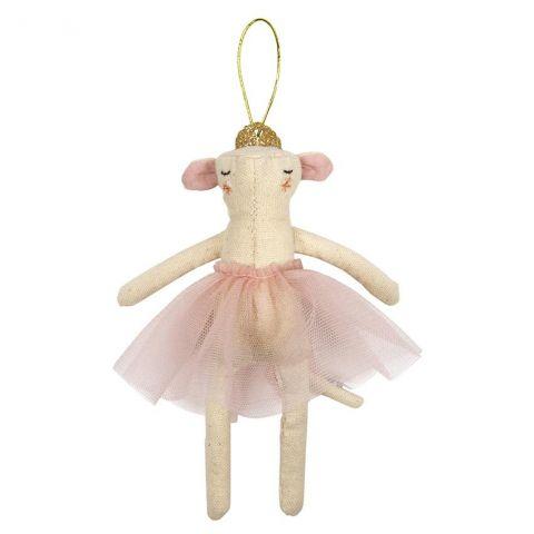 Ballerina Mouse, addobbo natalizie da Meri Meri