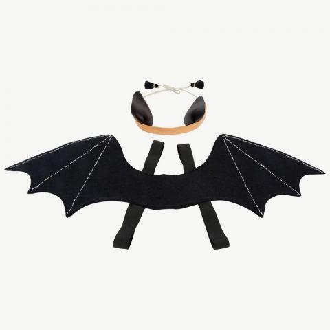 Halloween set di ali di pipistrello e copricapo da Meri Meri