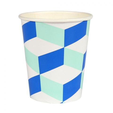 Aqua-Cubic Bicchieri di carta monouso :: Meri Meri