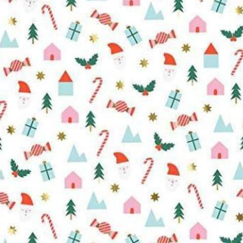Festive Icons Holiday Gift Wrap from Meri Meri