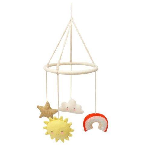 Happy Weather Baby Mobile from Meri Meri :: Baby Bottega