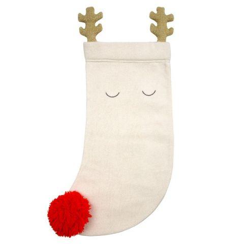 Renna di Natale, Calza a maglia da Meri Meri