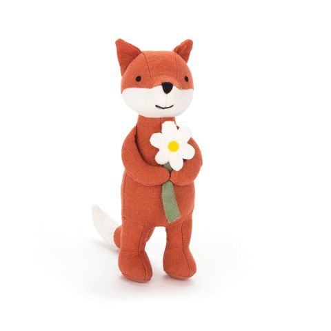 Mini Messenger FOx :: Peluche :: Jellycat presso Baby Bottega