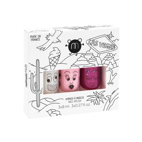 Las Vegas nail polish set from Nailmatic :: Online at Baby Bottega