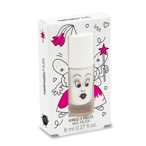 ZouZou nail polish in glossy white from Nailmatic :: Available at Baby Bottega