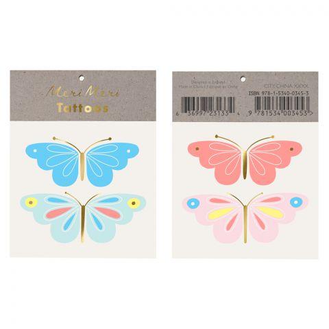 Tatuaggi Neon Butterfly di Meri Meri :: acquista su Baby Bottega