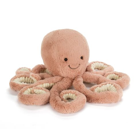 Odell Octopus Little, soft toy from Jellycat :: Baby Bottefa