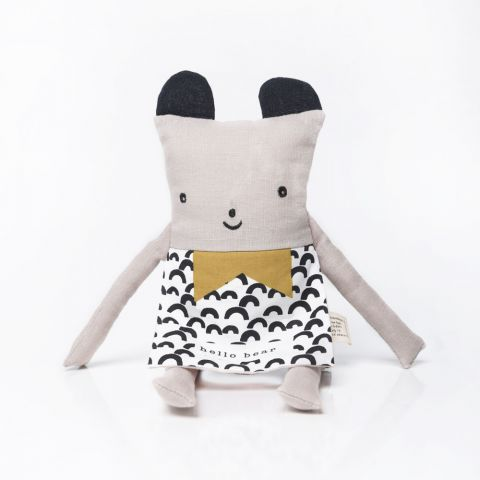 Organic Bear Flippy Friend, un peluche di Wee Gallery :: Design Bottega