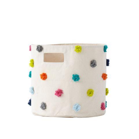 Pom Pom, Multi color bin from Pehr :: Design Bottega