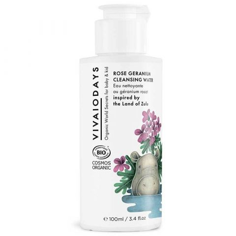 Rose Geranium acqua detergente di Vivaio Days :: acquista ora su Baby Bottega