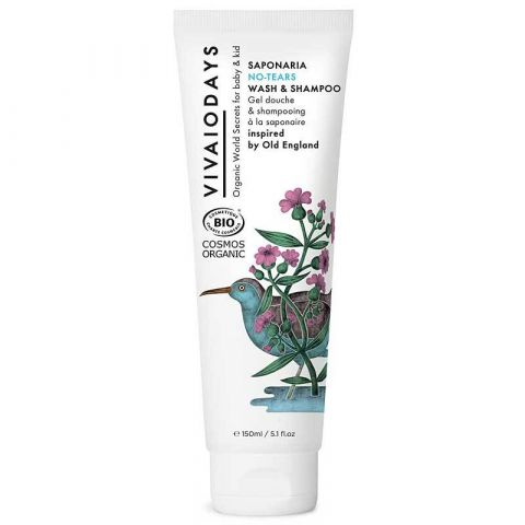 Saponaria no-tears wash & shampoo from VivaioDays :: Baby Bottega