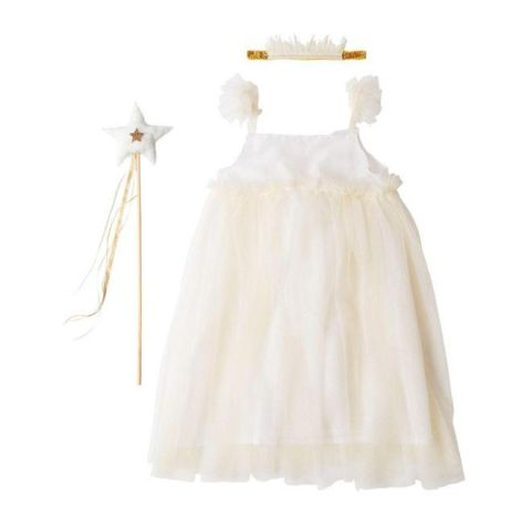 White Tulle Fairy Dress-up, taglio 5-6 :: Meri Meri