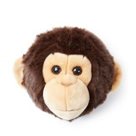 Monkey Joe, wall trophy from Wild & Soft :: Baby Bottega