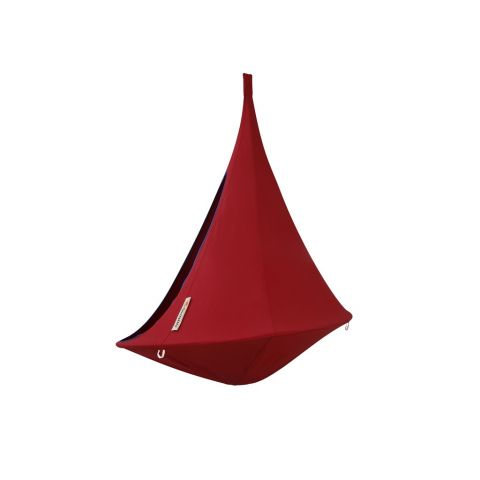 Hanging Tent in color chili red from Cacoonworld Bebo :: Baby Bottega