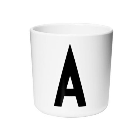 Personal Melamine Cup - A :: Baby Bottega