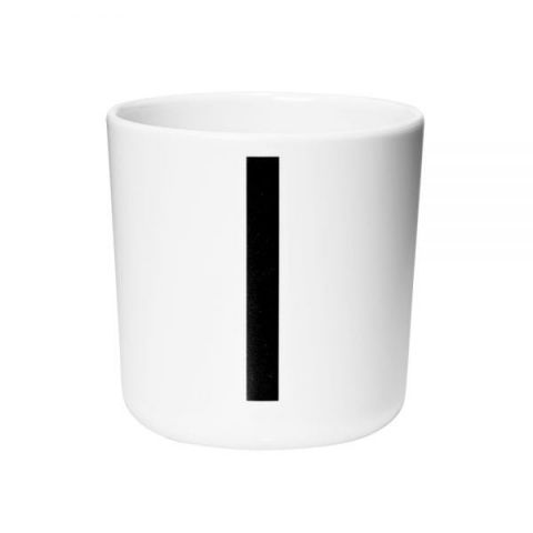 Personal Melamine Cup - I :: Available online Baby Bottega