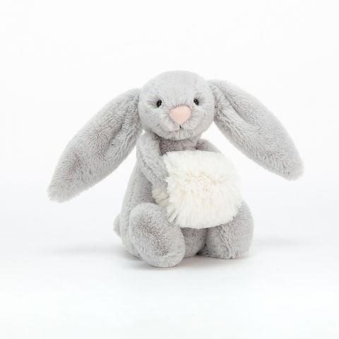 Bashful Silver Snow Bunny from Jellycat :: Baby Bottega
