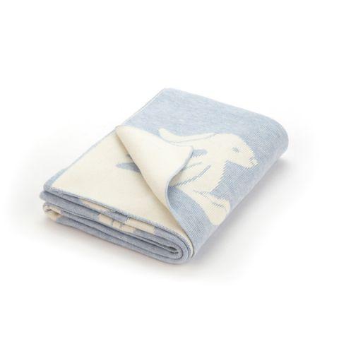 Bashful Blue Bunny Blanket from Jellycat :: Baby Bottega