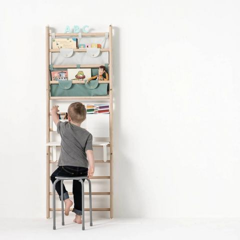 Table top & desk for wall bars from Kaos :: Baby Bottega