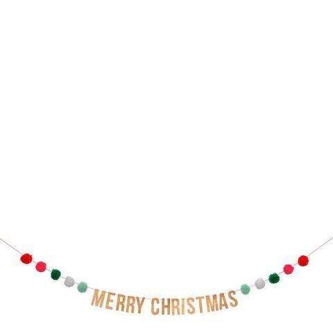 Ghirlanda Pom Pom Christmas di Meri Meri :: acquista su Baby Bottega