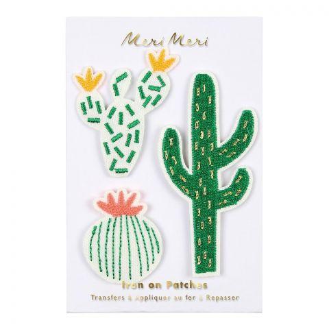 Cactus Iron-on Patches from Meri Meri  :: Baby Bottega