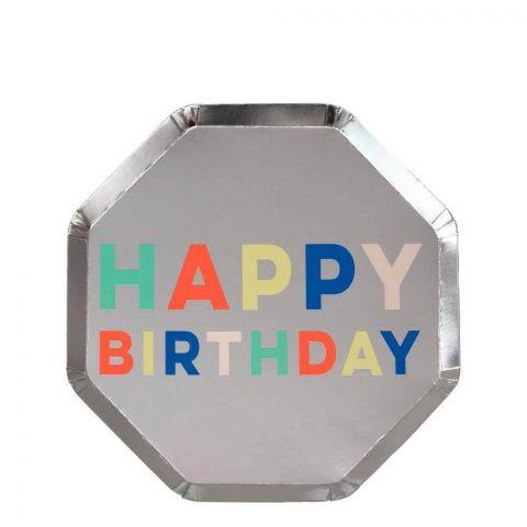 Birthday Palette Side Plates from Meri Meri :: Baby Bottega