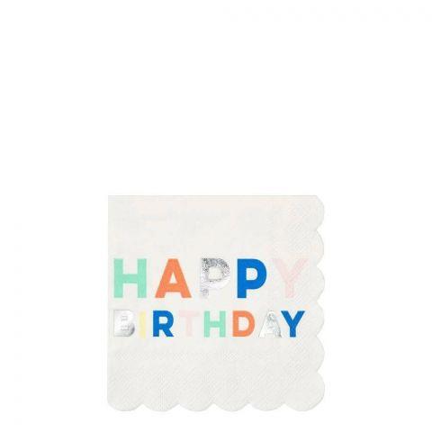 Birthday Palette Small Napkins from Meri Meri :: Baby Bottega