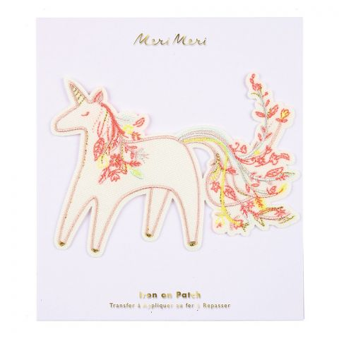 Unicorn Iron On Patch from Meri Meri :: Baby Bottega