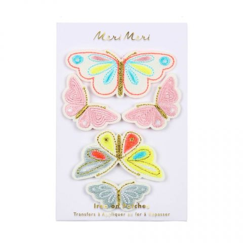 Butterflies Iron On Patches from Meri Meri :: Baby Bottega