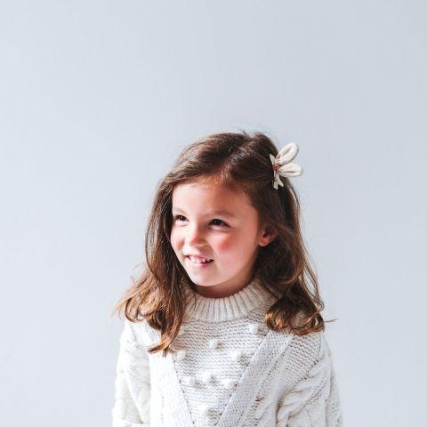 Safari Kiko Bunny Hair Clips from Mimi & Lula :: Baby Bottega