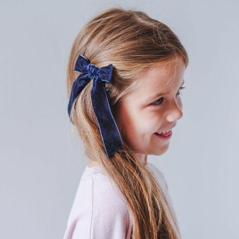 Arabella velvet bow clips from Mimi & Lula :: Baby Bottega