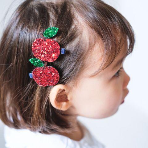Fermacapelli Mele Glitter di Mimi & Lula :: acquista ora su Baby Bottega