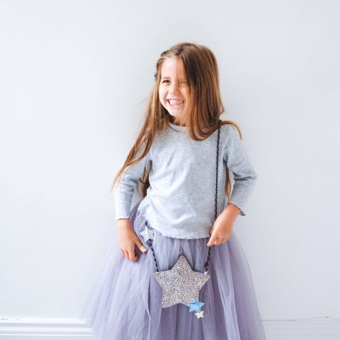Shooting Star Crossbody Bag from Mimi & Lula :: Baby Bottega