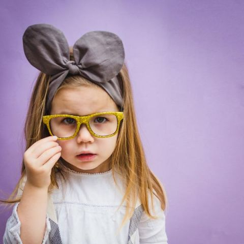 Glitter Glasses in gold from Mimi & Lula :: Shop Baby Bottega