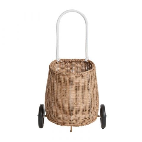 Luggy Basket in natural for small folk from Olli Ella :: Baby Bottega