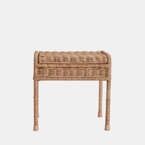 Storie Stool in natural raton from Olii Ella :: Baby Bottga