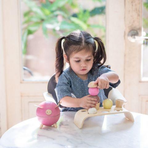 Ice Cream Set from Plan Toys :: Baby Bottega