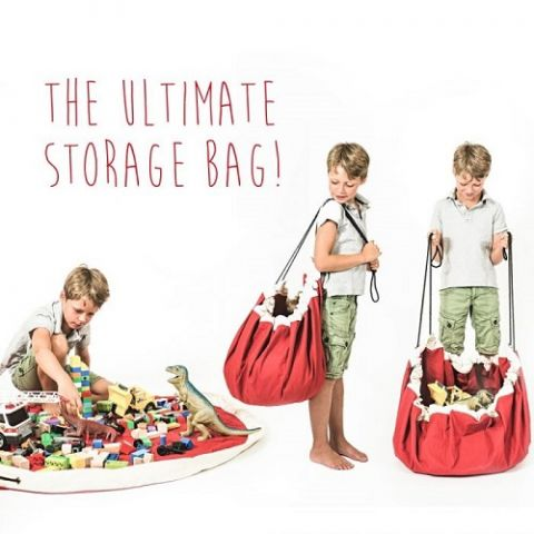 Supergirl, mini Toy Bag and Play Mat from Play and Go :: Baby Bottega