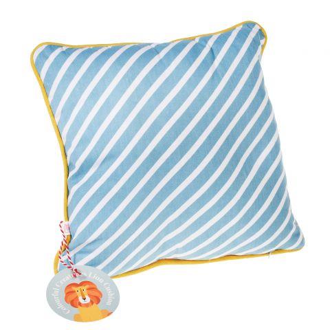 Charlie the Lion Cushion :: Baby Bottega