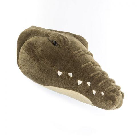 Crocodile Frank trophy head  & wall decoration from Wild & Soft :: Baby Bottega