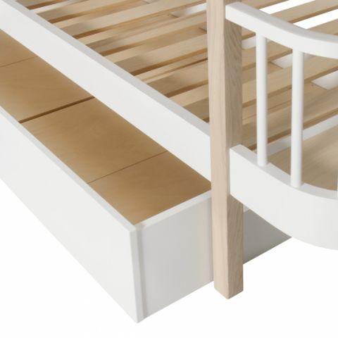 Cassetto del Letto in bianco di Oliver Furniture :: Baby Bottega