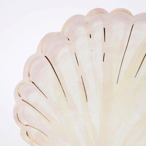 Watercolour Clam Shell Plates from Meri Meri :: Available at Baby Bottega