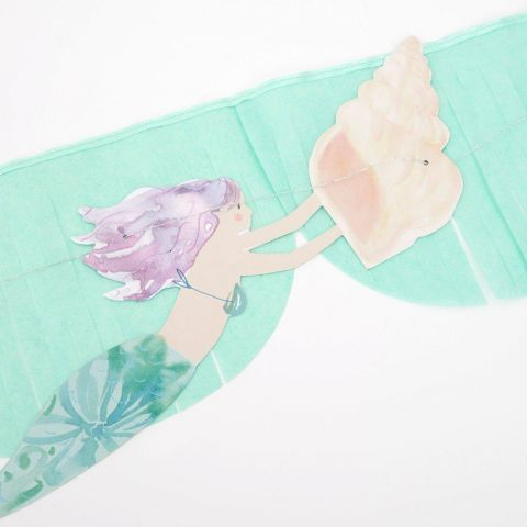 Mermaid Fringe Garland from Meri Meri :: Available at Baby Bottega